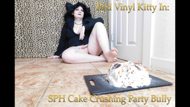 SPH Cake Crushing Party Bully video from Red Vinyl Kitty
