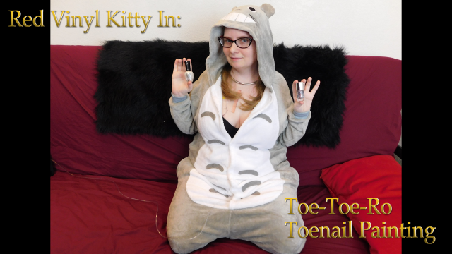 Toe-Toe-Ro Toenail Polishing video from Red Vinyl Kitty